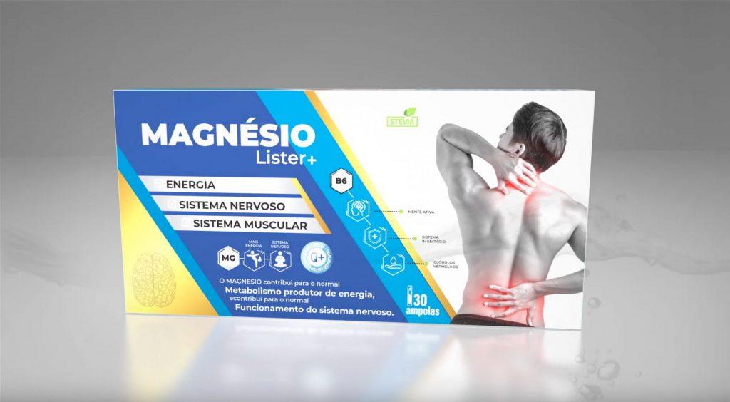 Magnesio Lister Mais Ampollas
